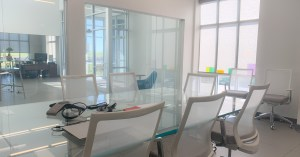 Conference room with view to entry _Moag Glass Corporation