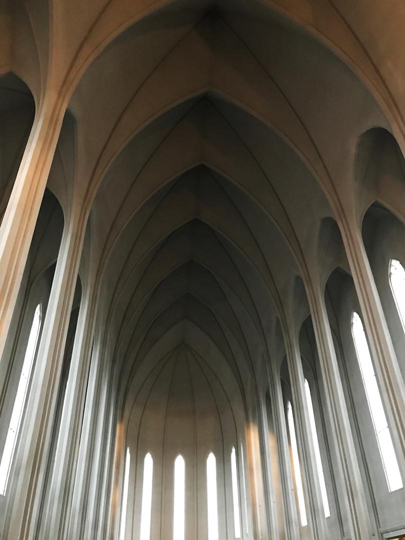 Hallgrímskirkja interior