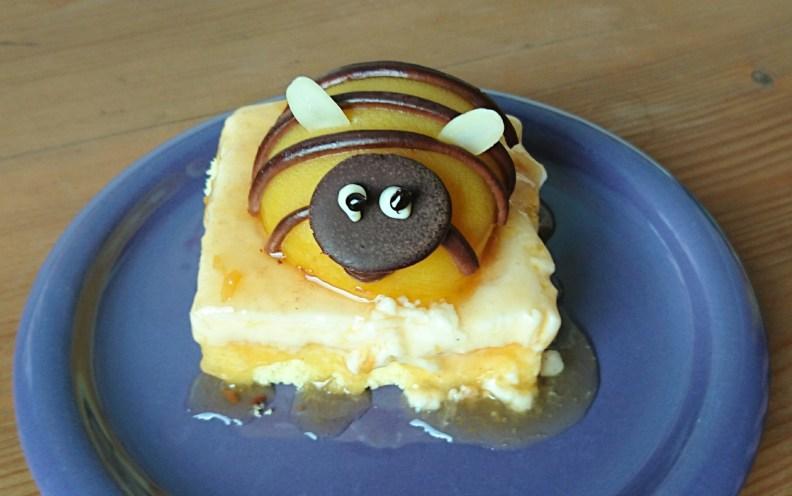 Susse Hummel Pfirsich Torte Moanas Backwerkstatt