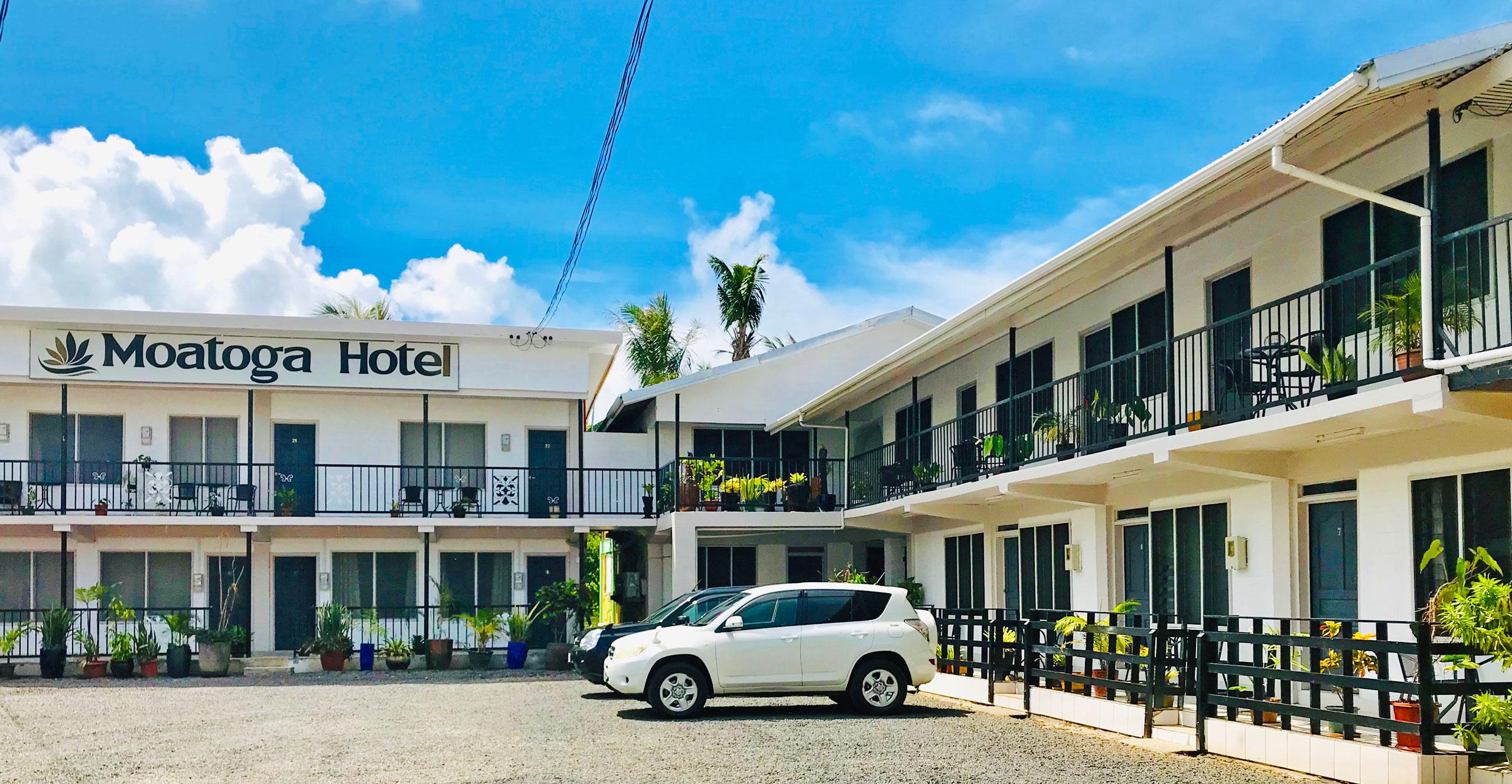 Samoa Accommodation - Moatoga Hotel