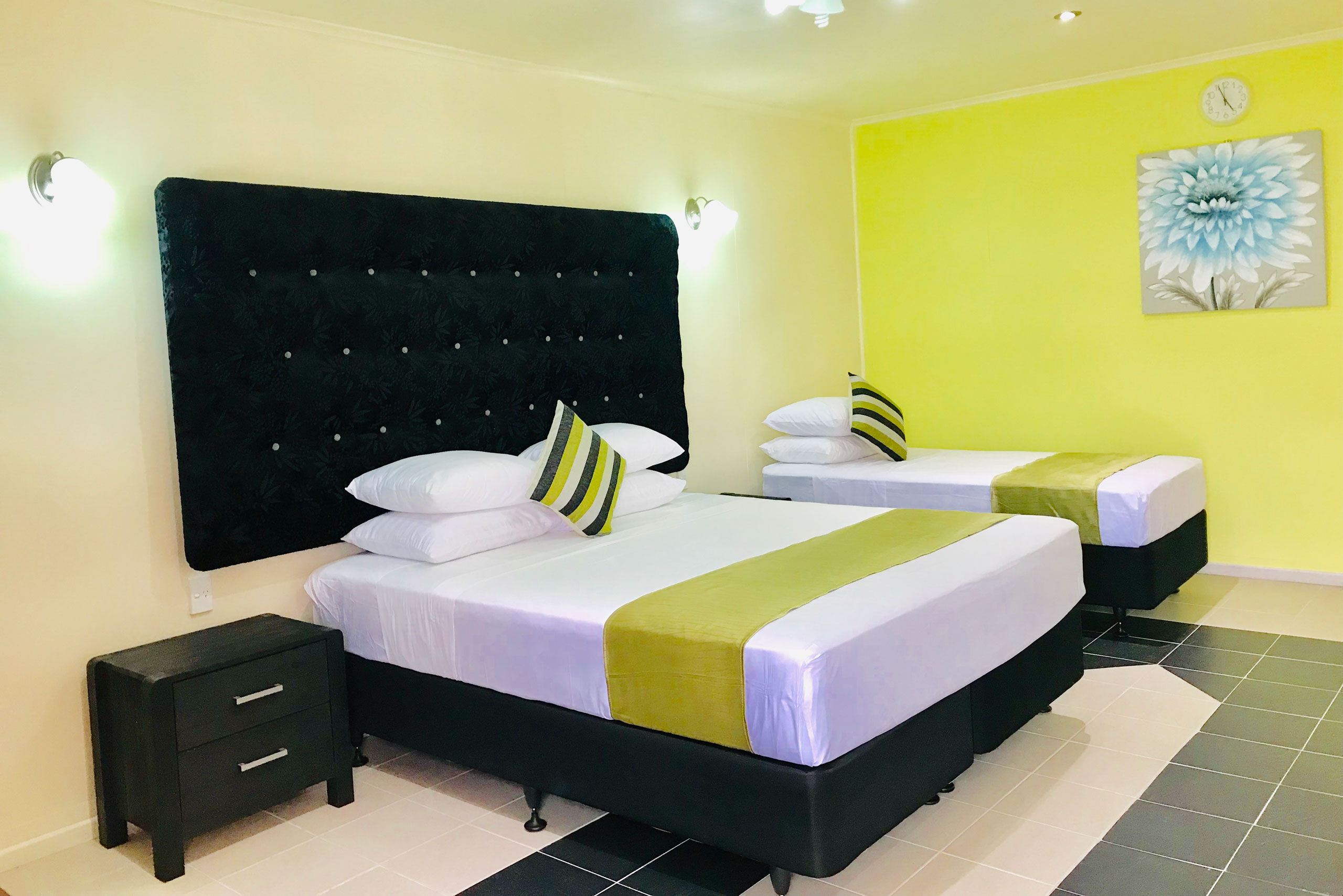 Samoa hotel room