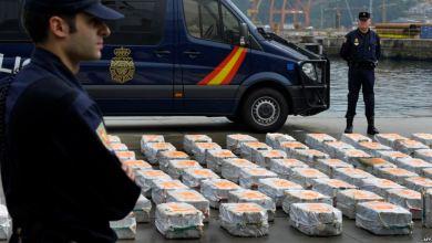 إسبانيا..حجز أزيد من 3 طن من المخدرات وإعتقال 5 أشخاص 5