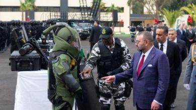 الملك يعطي الإنطلاقة لتشييد المقر الجديد للأمن الوطني 4