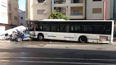حريق يلتهم حافلة ويخلف إصابات بتطوان 3