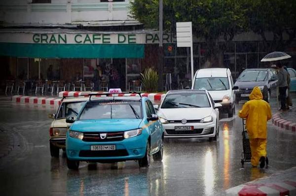 مقاييس التساقطات المطرية بمدن الشمال خلال 24 ساعة الماضية 1