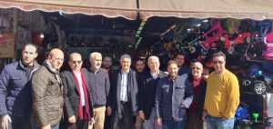 نزار بركة يبدأ حملته الإنتخابية من سوق كاسباراطا بطنجة 3
