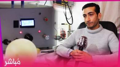 حميد المودن مغربي يصنع جهاز يساعد على التنفس بتكلفة بسيطة 1