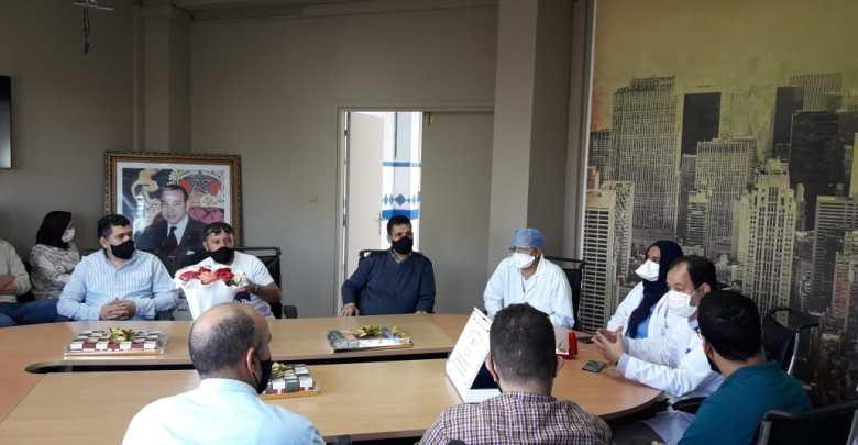 """جمعية """"صوت الصاغة"""" بطنجة تكرم أبطال مكافحة كورونا 1"""