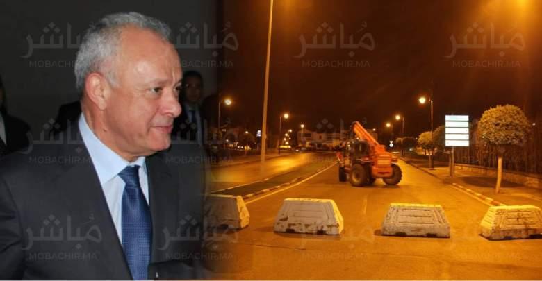 على متن حافلة..مهيدية يتفقد إجراءات الطوارئ رفقة مسؤولي المدينة 1