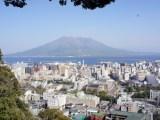 桜島と鹿児島の街を一望「城山展望台」