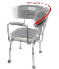 Swivel Shower Chair 2 | Bath Chair | Bathroom Aid | MOBB ...