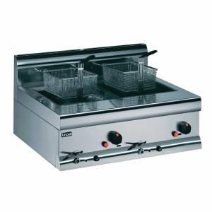 lpg gas fryer twin basket lincat f899-