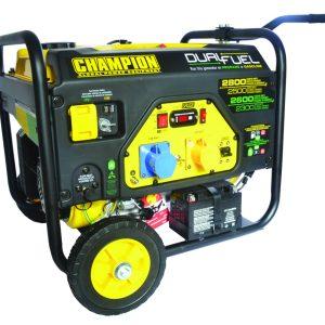 lpg generator dual fuel