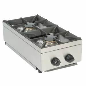 2 burner lpg hob mobile catering equipment