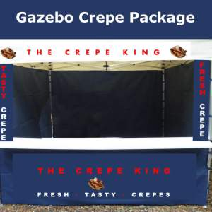 gazebo crepe business package