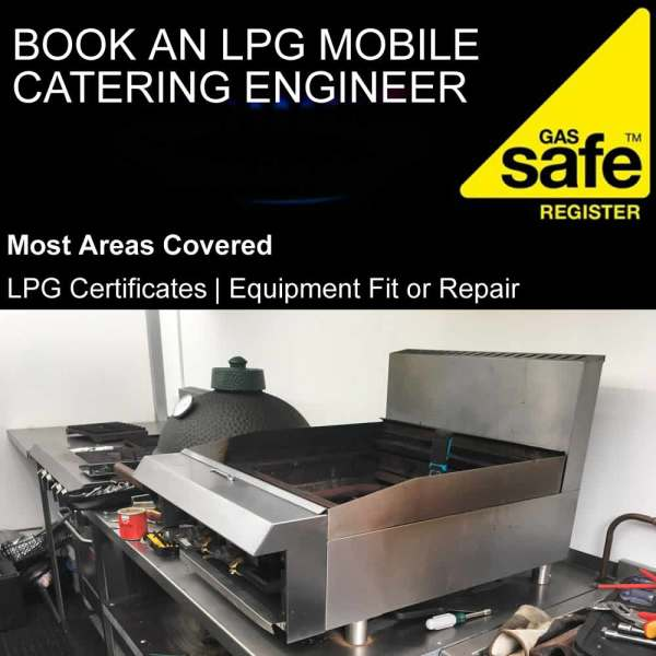 book lpg mobile catering engineer