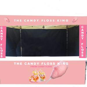 candy floss catering gazebo