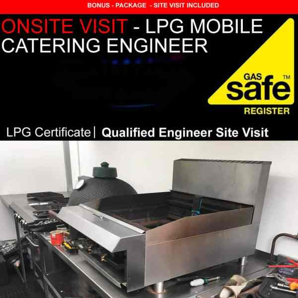 lpg mobile catering engineer gas certificate