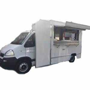 white catering burger van for sale