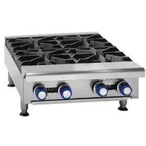 propane 4 burner boiling table catering equipment
