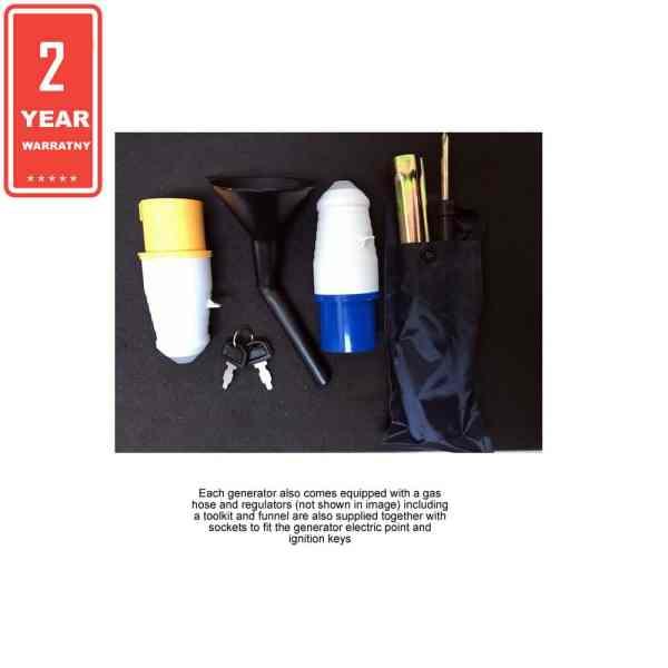 greengear lpg generator tool kit
