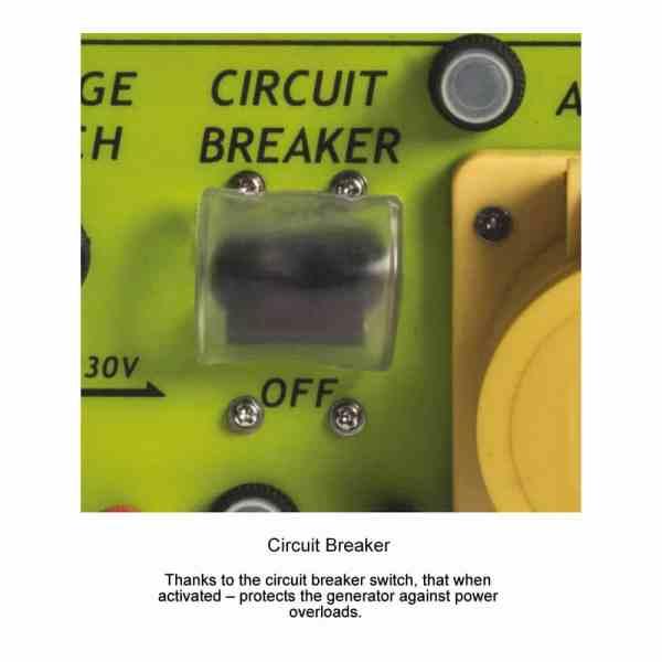 lpg generator circuit breaker mobile catering