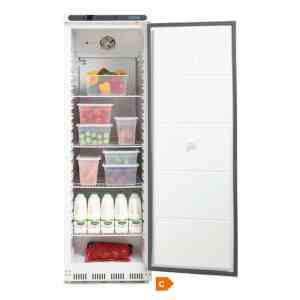 polar-single-door-fridge-cd612-open door