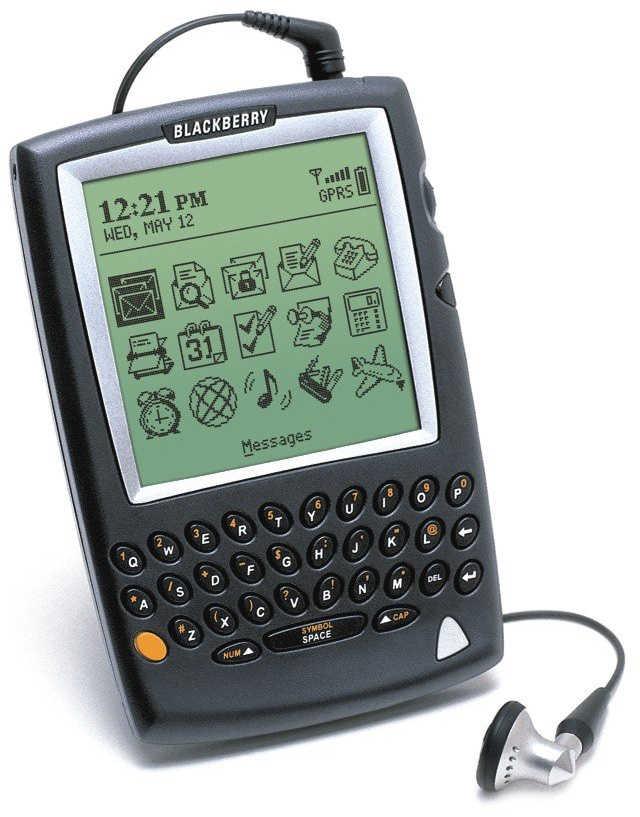 Datovania webové stránky pre BlackBerry