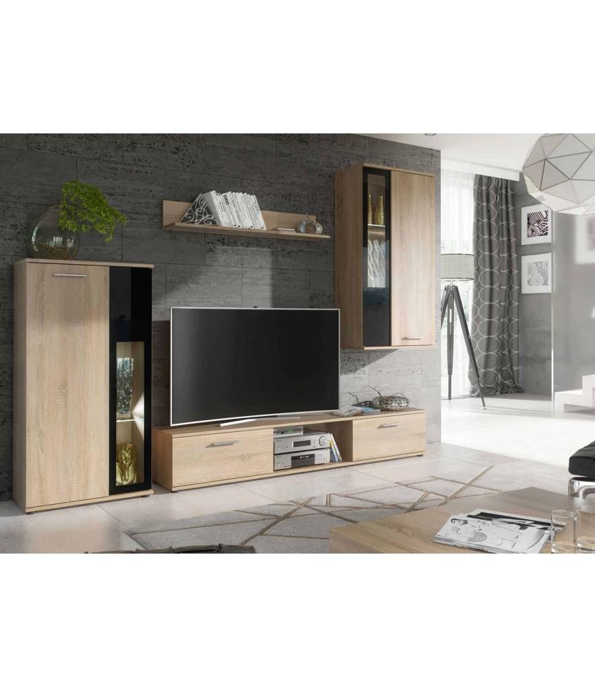 meuble tv de salon design beige