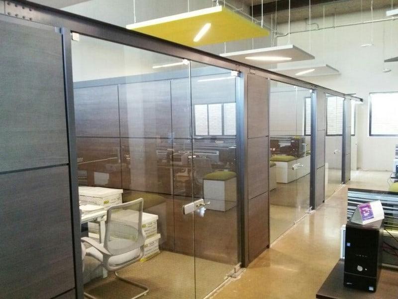 Muros funcionales  Opcin para oficinas mobiliario