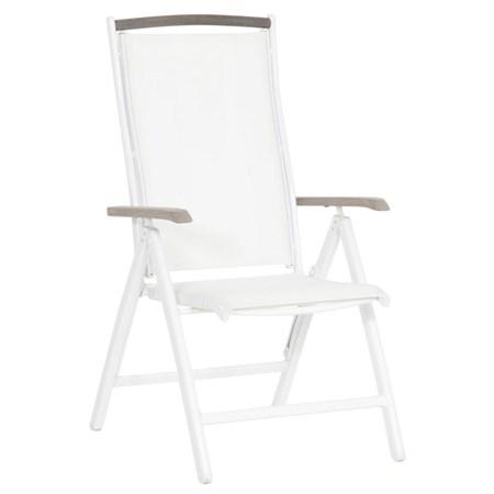 stoler Alfa Stol 66 cm - Hvit fra Easy living by Martinsen