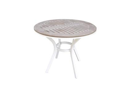 spisebord Alpha Spisebord Ø120 cm - Hvit fra Easy living by Martinsen