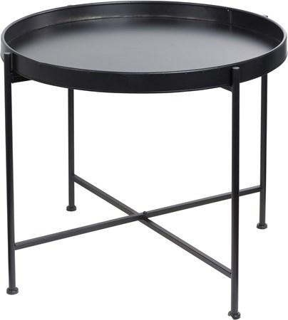 kaffebord Brikkebord i plate d70 svart fra Ernst Kirchsteiger