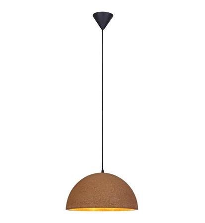 belysning Cork Taklampe Brun 40 cm fra Markslöjd