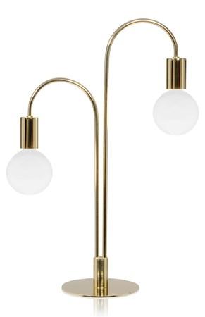 belysning Grace Bordlampe Messing fra Globen Lighting