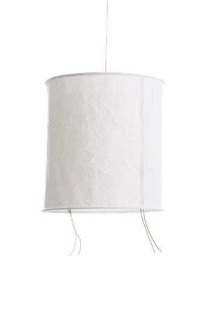 belysning Lampe linne med tøyledning d50 h55cm fra Ernst Kirchsteiger