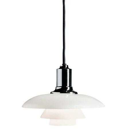 belysning PH 2/1 Taklampe - Hvit/Krom fra Louis Poulsen