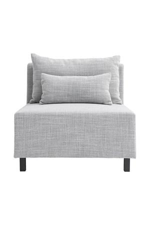 sofaer Sofa Light Grey Middle fra House Doctor