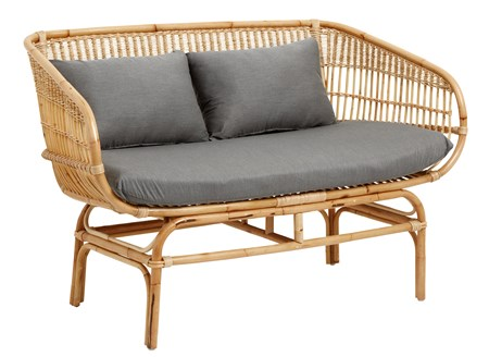 sofaer Sofa i Rotting 81x68x138 cm - Natur fra Nordal