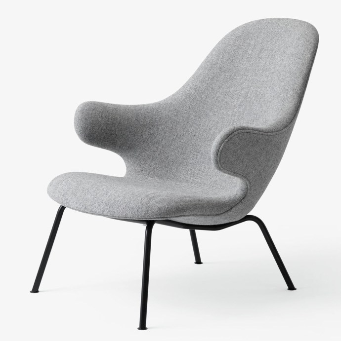 Catch Lounge Chair JH14 Hallingdal 130 fra &tradition -