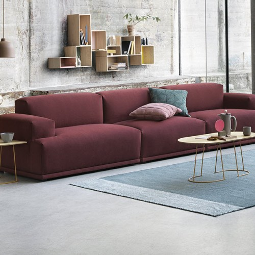 Connect Sofa 3 seter Rime 591 fra Muuto -