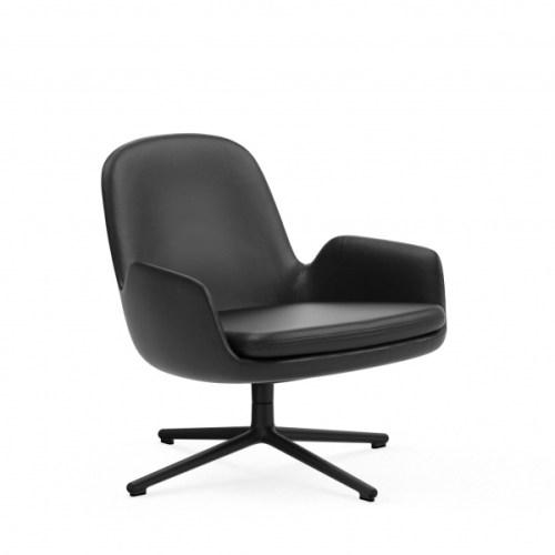 Era Lounge Chair med skinntrekk Normann Copenhagen loungestol loungestol fra Normann Copenhagen