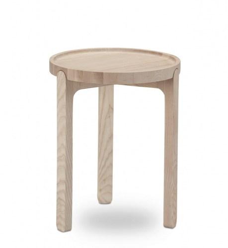 Inskud Tray Table 34 cm Ask kaffebord kaffebord fra Skagerak