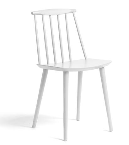 J77 Chair HAY Hvit kjøkkenstol kjøkkenstol fra Hay