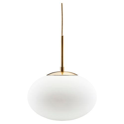 Lampe Opal Hvit Ø:30 fra House Doctor - 5707644492974