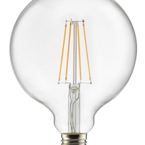 Lyspære Globe 3-stegs LED 125 mm fra Unison - 7340037006181