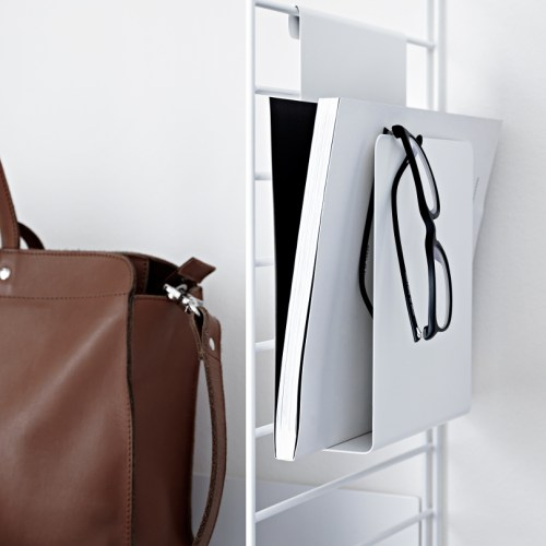 Magasin/Ipad holder fra String -
