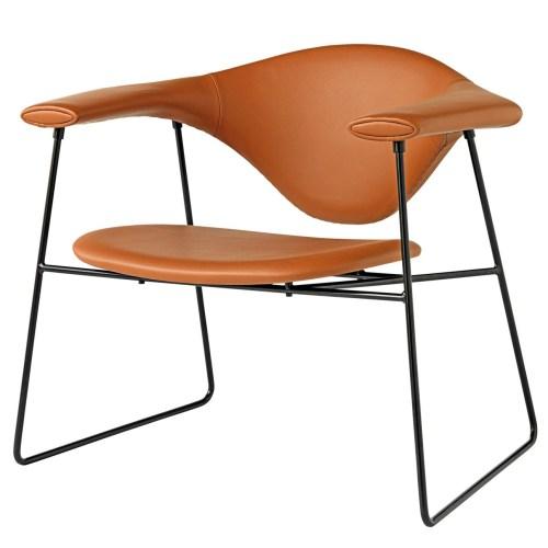 Masculo Lounge Chair fra Gubi -