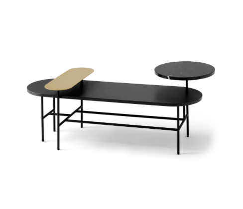 Palette Table Black HJ7 &tradition sofabord sofabord fra &tradition