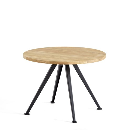 Pyramid Coffee Table 51 Svart/Eik H:44 fra Hay -